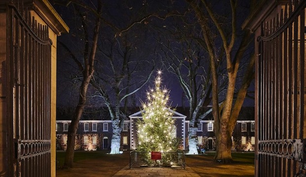 Christmas at the Geffrye Museum Gardens
