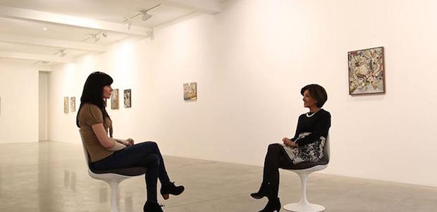 Katy Moran artist in conversation with Ziba Ardalan, Parasol unit