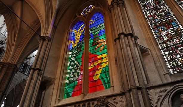 The Queen's Window, Westminster Abbey