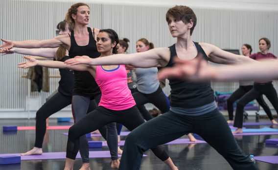 Rambert Body Conditioning Class photo Stephen Wright