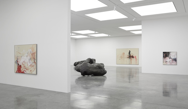 Tracey Emin: A Fortnight of Tears Installation Shot at White Cube Gallery Bermondsey
