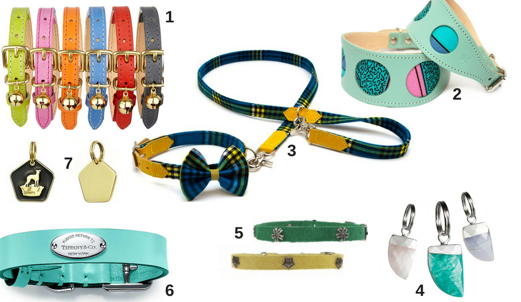 Luxury dog collars, luxury cat collars, collar charms
