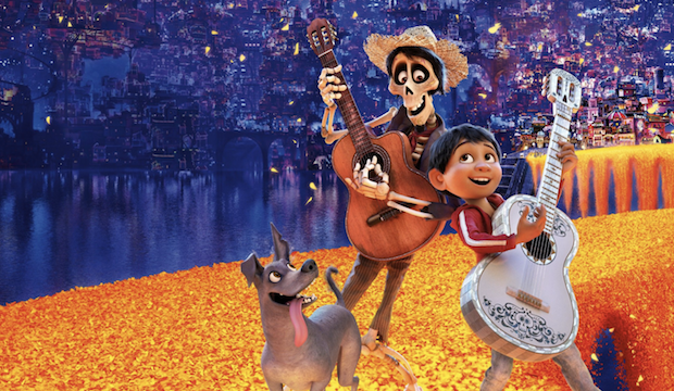 Miguel and Hector in Coco Pixar