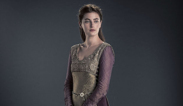Aethelflaed of mercia, portrayed by millie brady