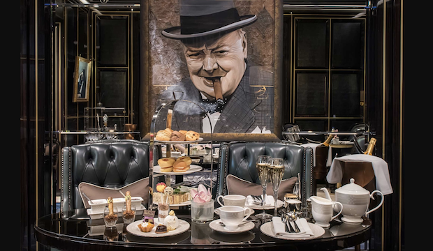 High tea for children, Winston Churchill Afternoon Tea, The Wellesley