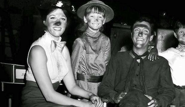 Behind the scenes of Mary Poppins: Julie Andrews, Karen Dotrice and Dick Van Dyke