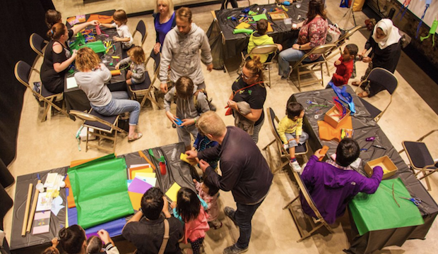 Family events at Battersea Power Station: Spring Arts & Crafts
