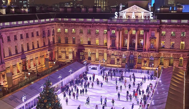 Winter activities for families: skate at Somerset House