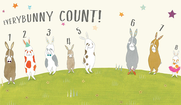 Easter: Discover Children's Story Centre, EVERYBUNNY Count! with Ellie Sandall