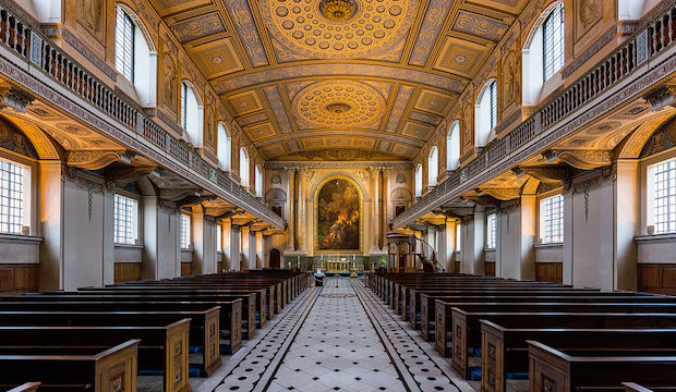 Old Royal Naval College Chapel, Greenwich