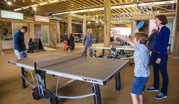 Family events at Battersea Power Station: Power of Ping! Pong