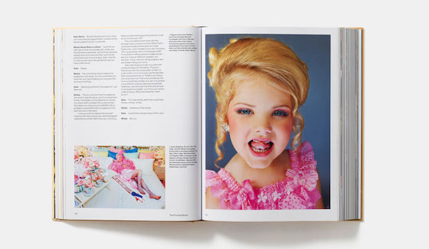 Child beauty pageant princess, Eden Wood, pictured in Greenfield's book, also entitled Generation Wealth