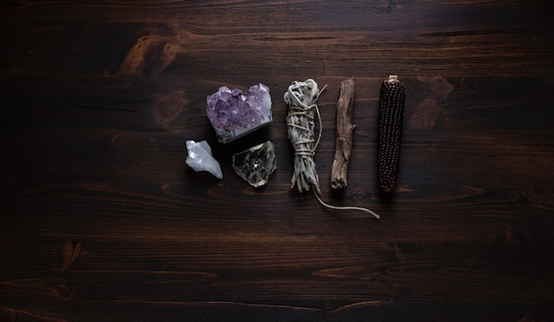 Tarot and crystals