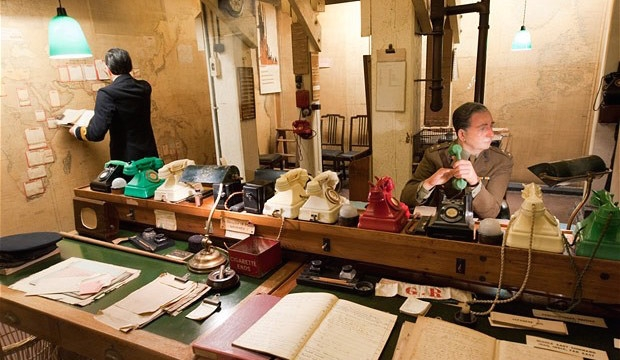 Best Museums in London for Families and Kids: Churchill War Rooms