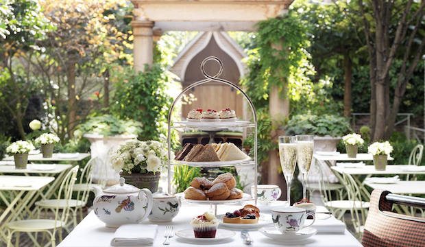 High tea for children: Afternoon tea at Number Sixteen