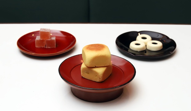 Sweet treats from the Taiwanese afternoon tea menu Xu offers daily