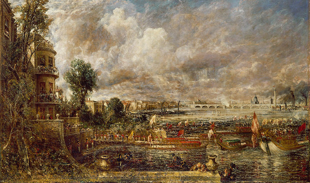 Royal Academy John Constable painting