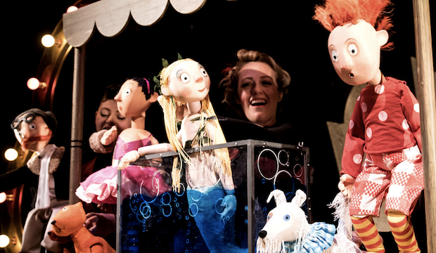 The Singing Mermaid, Little Angel Theatre. Photo: Graeme Braidwood
