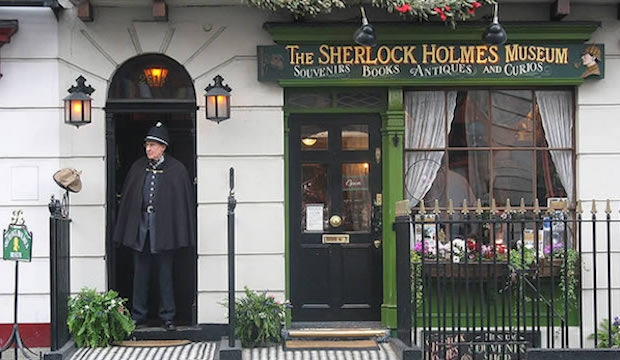 Best Museums in London for Families and Kids: Sherlock Holmes Museum