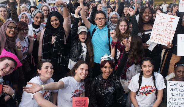 WOW Women of the World: Agents for Change, WOW Young Women's Rally 2018, Southbank Centre