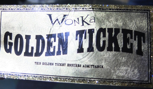 A genuine Golden Ticket: Behind the Scenes at Charlie and the Chocolate Factory