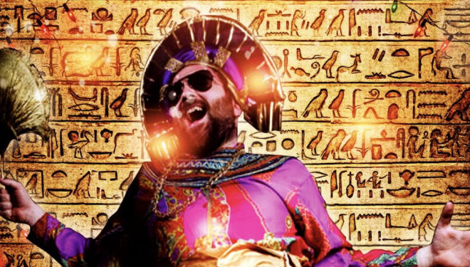 Things to do with children between Christmas and New Year: King Tut King's Head Theatre
