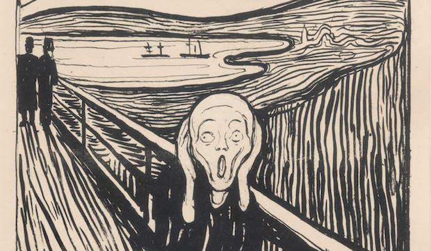 British Museum Edvard Munch exhibition: love and angst