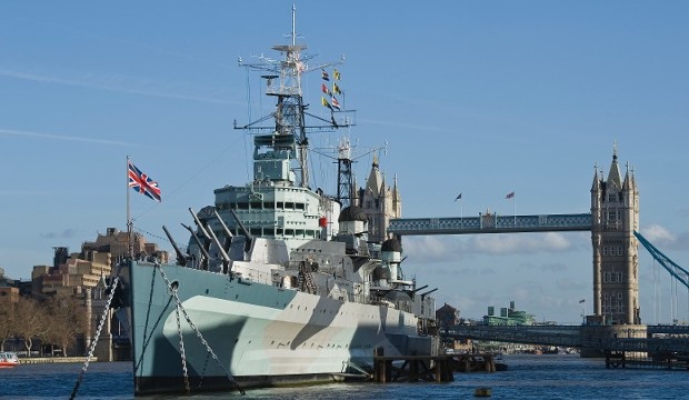 Best Museums in London for Families and Kids: HMS Belfast