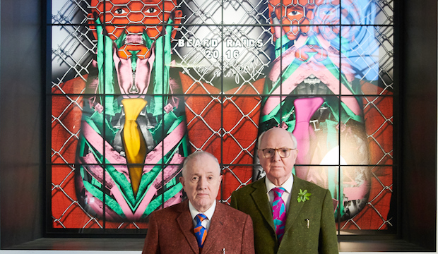 Gilbert & George at BRAFA Art Fair, 2019